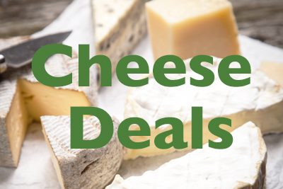 Monthly Cheese Deals at the Co-op!
