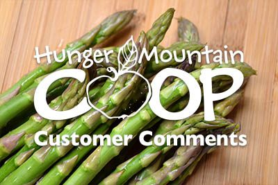 Customer Comments 5/4/18