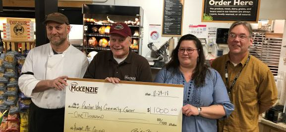 Partnering with McKenzie Deli to Support Another Way Community Center