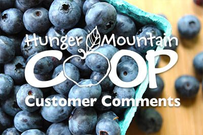 Customer Comments 8/29/19