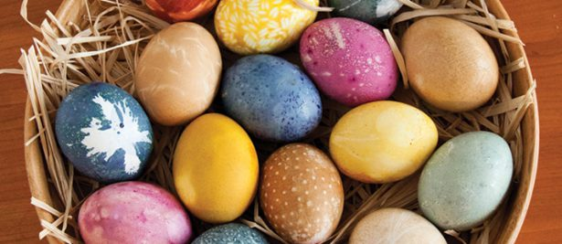 Color Your Eggs Naturally
