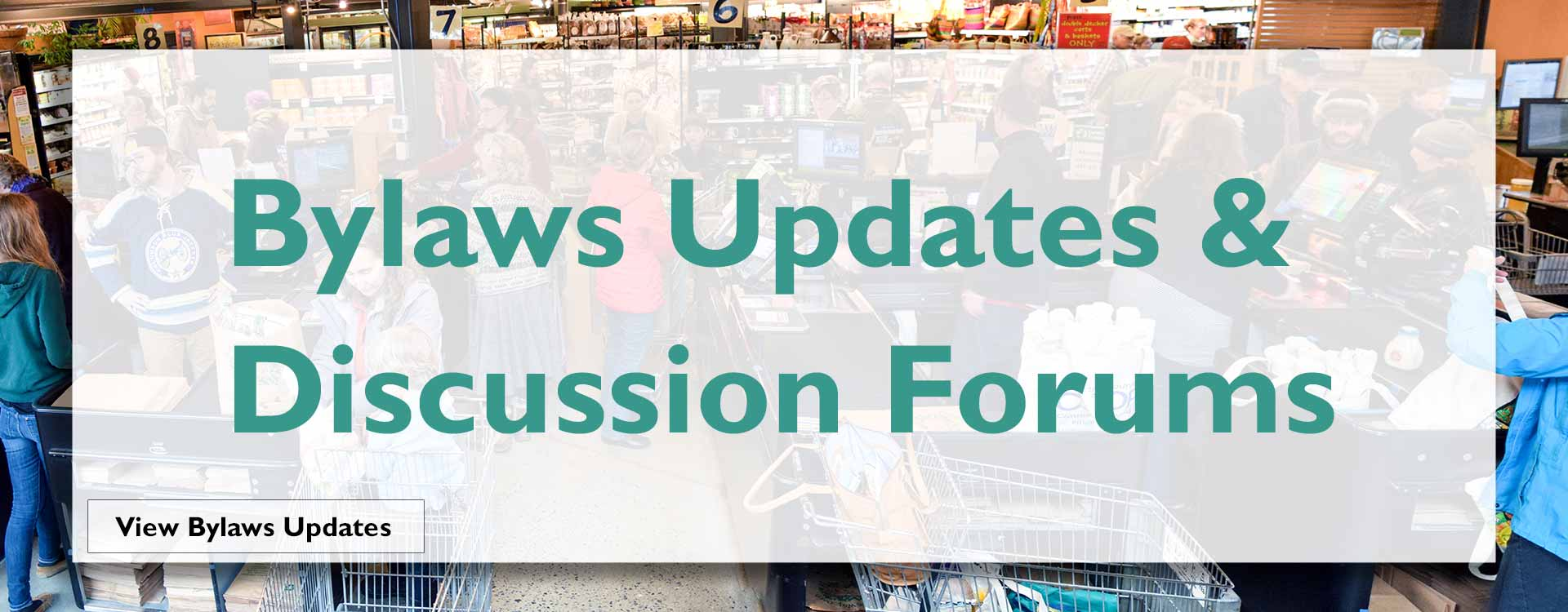 Bylaws Updates