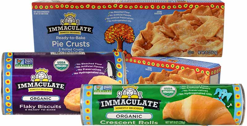Immaculate Baking Company products
