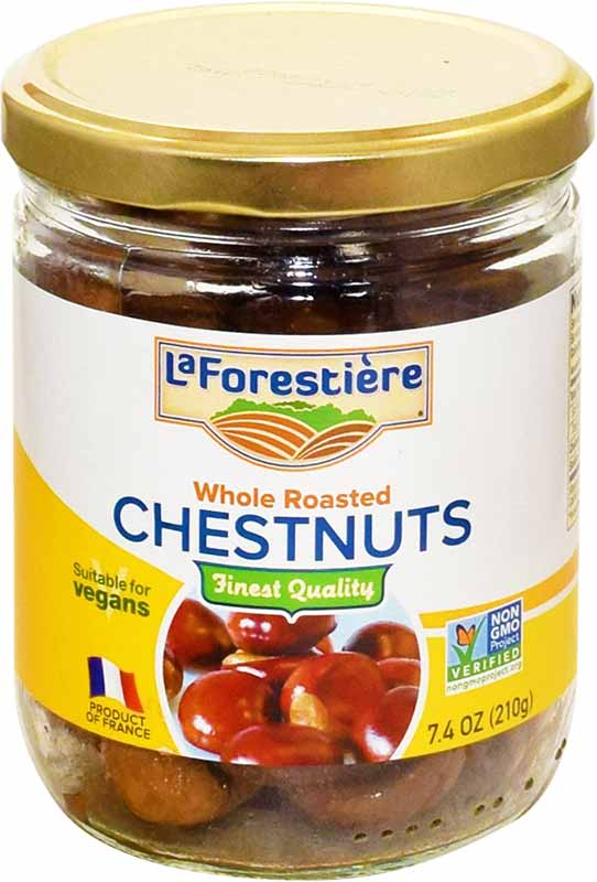 LaForestiere canned roasted chestnuts