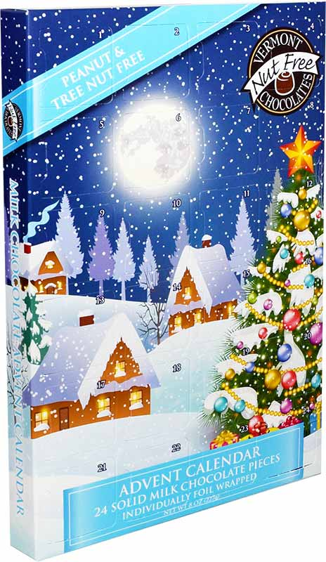 VT Nut Free Chocolates advent calendar