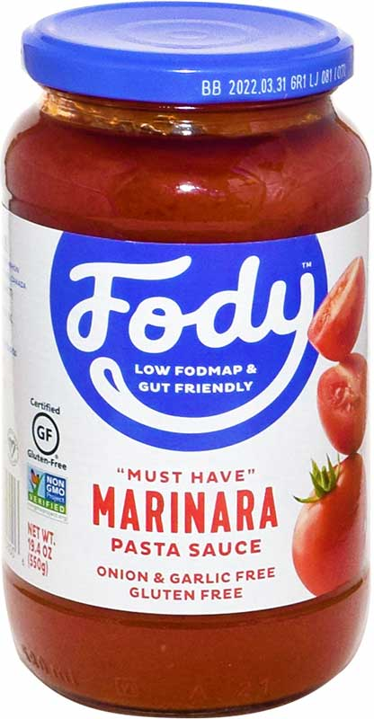 Fody low FODMAP marinara sauce