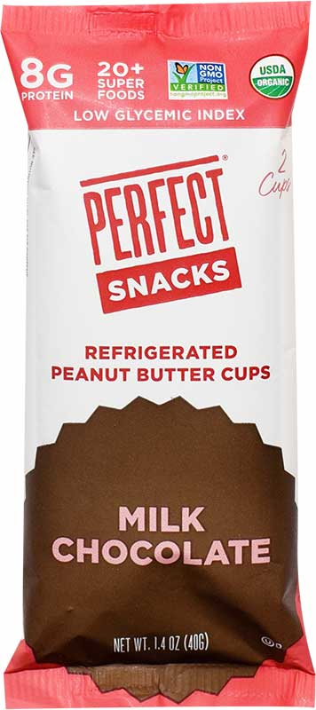 Perfect Snacks refrigerated peanut butter cups