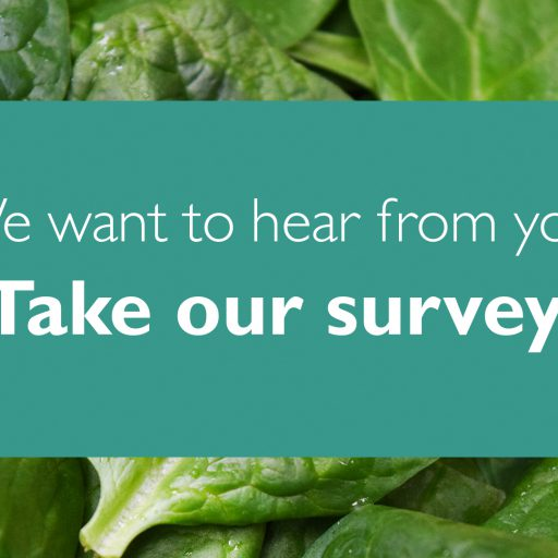 Take our shopper survey